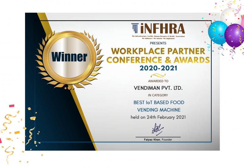 iNFHRA Award Vendiman1